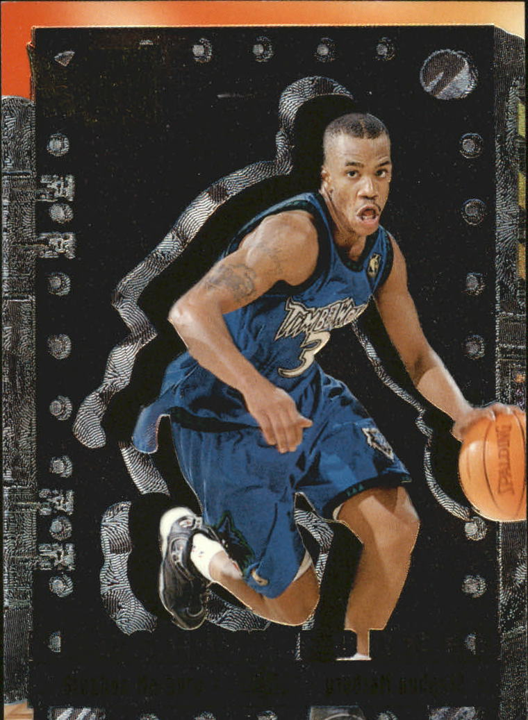 1996-97 Metal Freshly Forged #10 Stephon Marbury