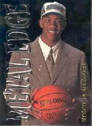 1996-97 Metal Metal Edge #11 Stephon Marbury