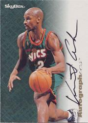 1996-97 SkyBox Premium Autographics #5 Vincent Askew