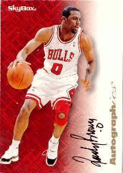 1996-97 SkyBox Premium Autographics #11 Randy Brown