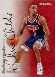 1996-97 SkyBox Premium Autographics #13 Chris Childs