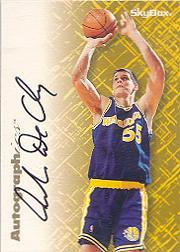 1996-97 SkyBox Premium Autographics #15 Andrew DeClercq