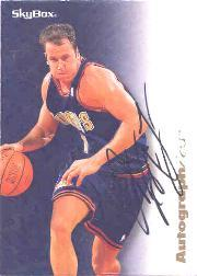 1996-97 SkyBox Premium Autographics #44 Don MacLean