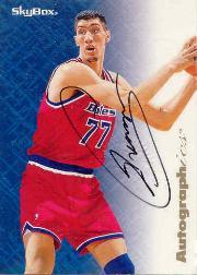 1996-97 SkyBox Premium Autographics #57 Gheorghe Muresan