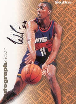 1996-97 SkyBox Premium Autographics #66 Wesley Person