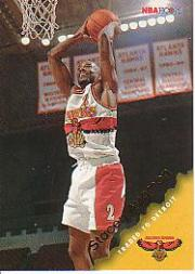 1996-97 Hoops #1 Stacey Augmon