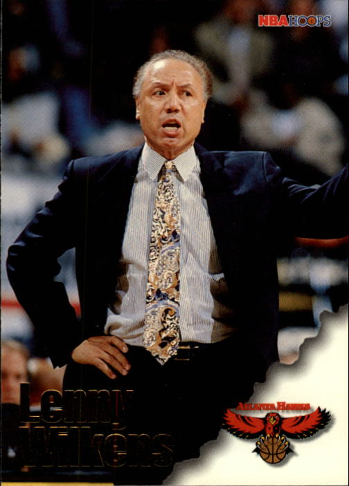 1996-97 Hoops #249 Lenny Wilkens CO