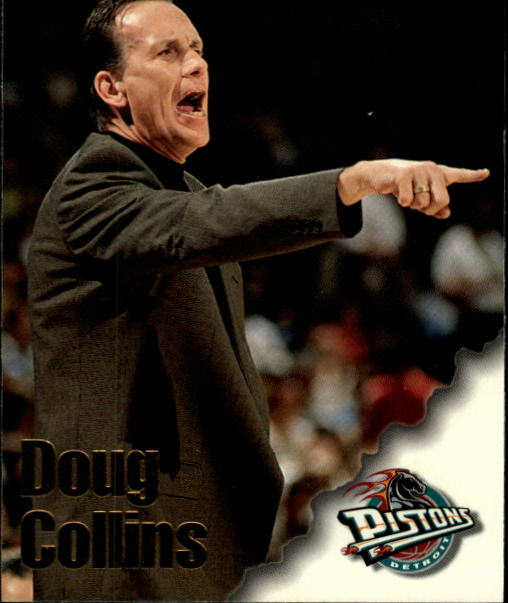 1996-97 Hoops #256 Doug Collins CO