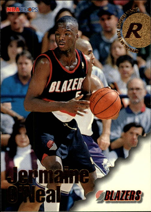 1996-97 Hoops #306 Jermaine O'Neal RC