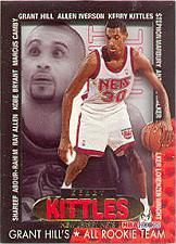 1996-97 Hoops Grant's All-Rookies #7 Kerry Kittles