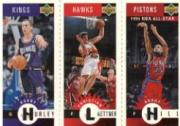 1996-97 Collector's Choice Mini-Cards Gold #M25 Bobby Hurley/Christian Laettner/Grant Hill