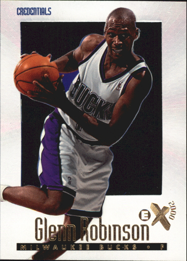 1996-97 E-X2000 Credentials #39 Glenn Robinson