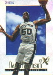 1996-97 E-X2000 Credentials #65 David Robinson