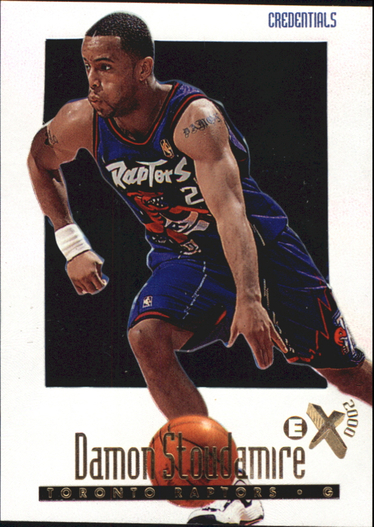 1996-97 E-X2000 Credentials #71 Damon Stoudamire