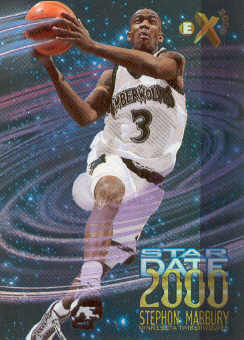 1996-97 E-X2000 Star Date 2000 #10 Stephon Marbury