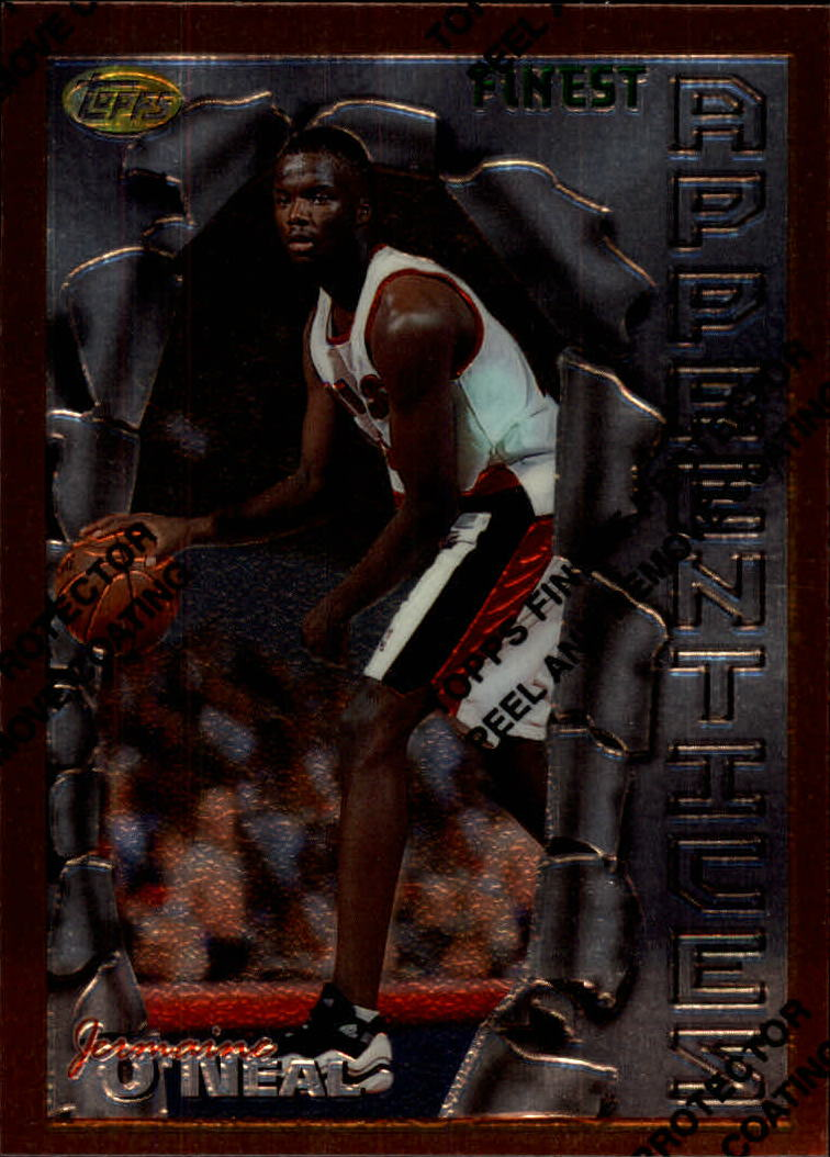 1996-97 Finest #31 Jermaine O'Neal B RC