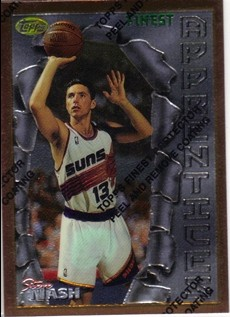 1996-97 Finest #75 Steve Nash B RC