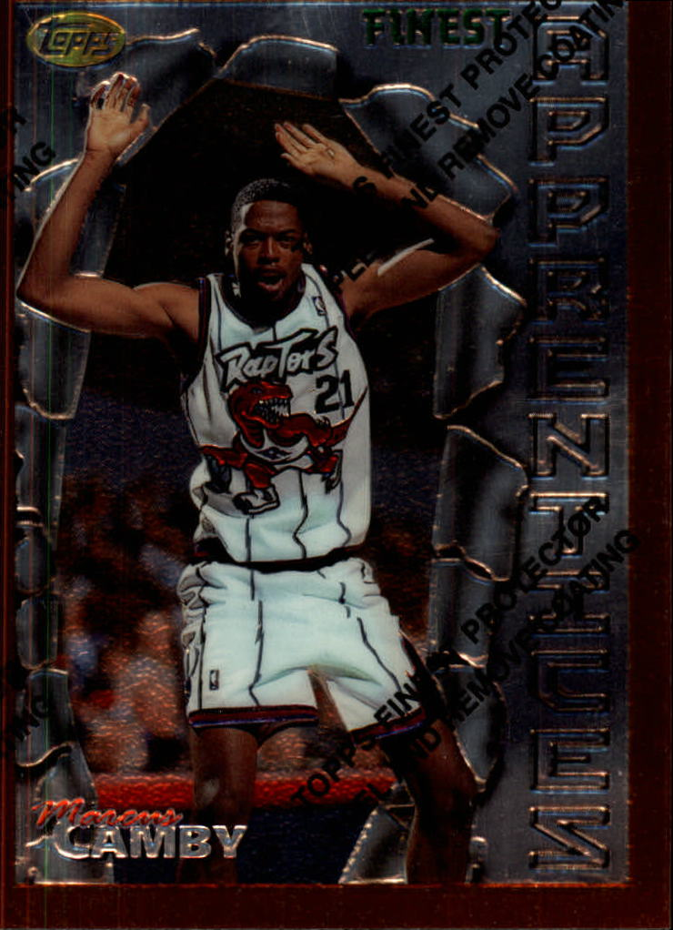 1996-97 Finest #82 Marcus Camby B RC