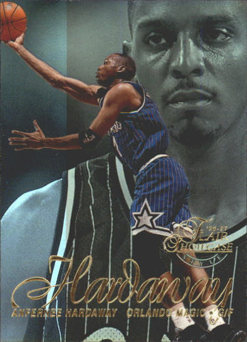 1996-97 Flair Showcase Row 2 #1 Anfernee Hardaway