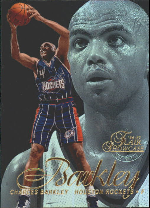 1996-97 Flair Showcase Row 2 #4 Charles Barkley