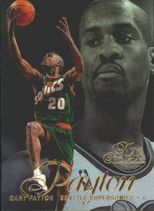 1996-97 Flair Showcase Row 2 #7 Gary Payton