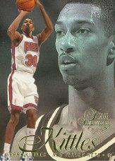 1996-97 Flair Showcase Row 2 #8 Kerry Kittles RC