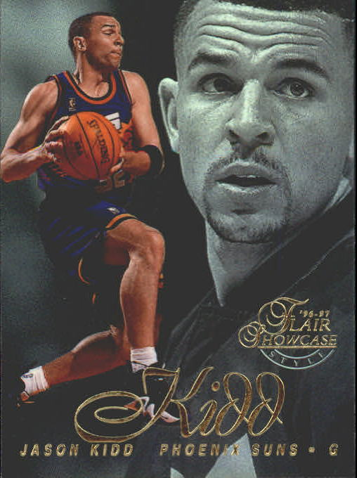 1996-97 Flair Showcase Row 2 #15 Jason Kidd