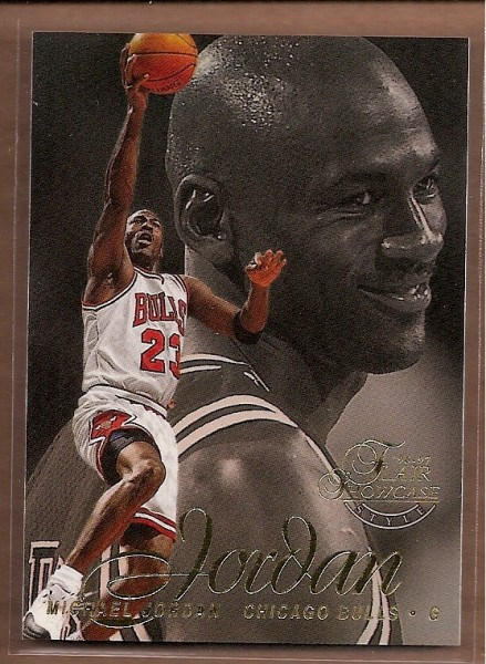 1996-97 Flair Showcase Row 2 #23 Michael Jordan