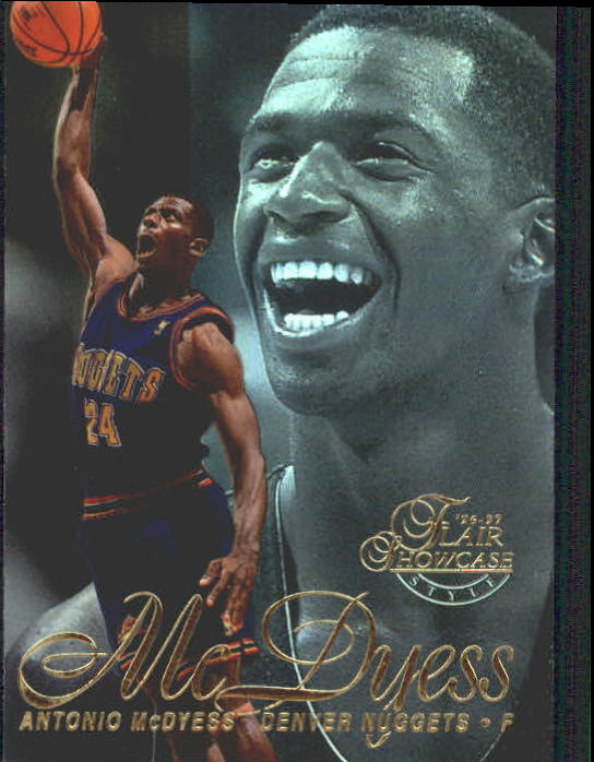 1996-97 Flair Showcase Row 2 #24 Antonio McDyess
