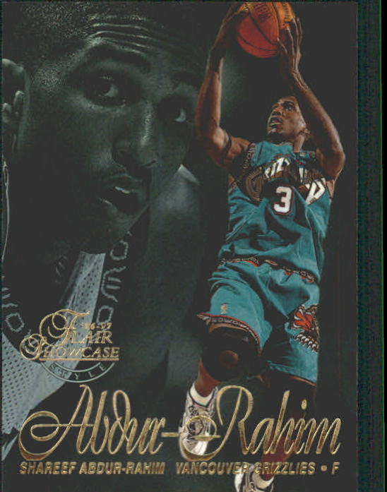 1996-97 Flair Showcase Row 2 #29 Shareef Abdur-Rahim RC