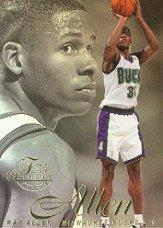 1996-97 Flair Showcase Row 2 #35 Ray Allen RC