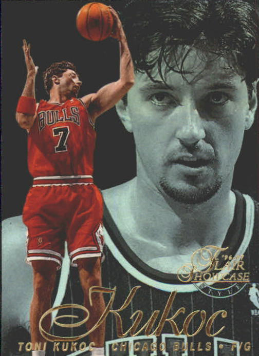 1996-97 Flair Showcase Row 2 #48 Toni Kukoc