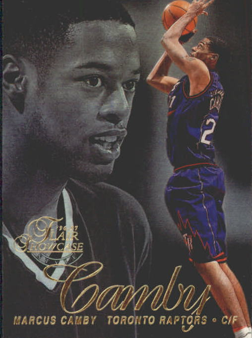 1996-97 Flair Showcase Row 2 #49 Marcus Camby RC