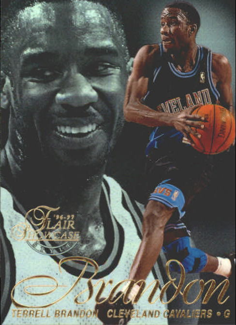 1996-97 Flair Showcase Row 2 #55 Terrell Brandon
