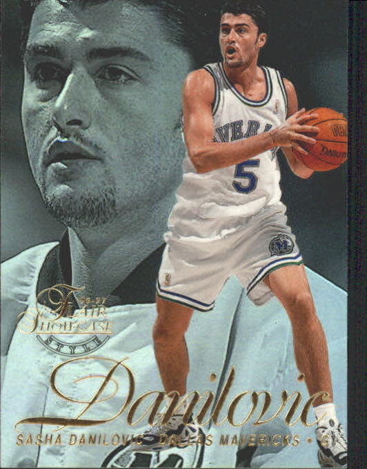 1996-97 Flair Showcase Row 2 #57 Sasha Danilovic
