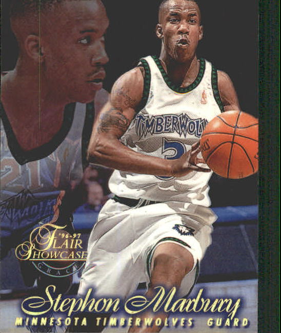 1996-97 Flair Showcase Row 1 #11 Stephon Marbury
