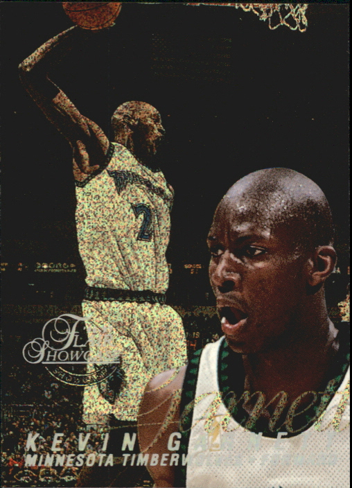 1996-97 Flair Showcase Row 0 #21 Kevin Garnett