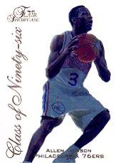 1996-97 Flair Showcase Class of '96 #10 Allen Iverson
