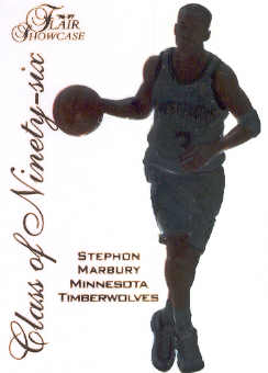 1996-97 Flair Showcase Class of '96 #14 Stephon Marbury