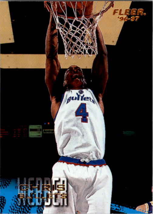 1996-97 Fleer #119 Chris Webber