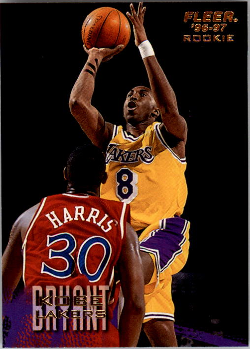 1996-97 Fleer #203 Kobe Bryant RC