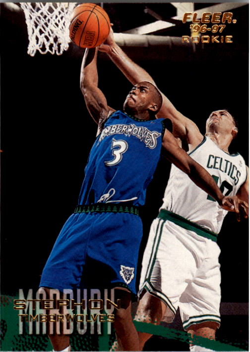 1996-97 Fleer #219 Stephon Marbury RC