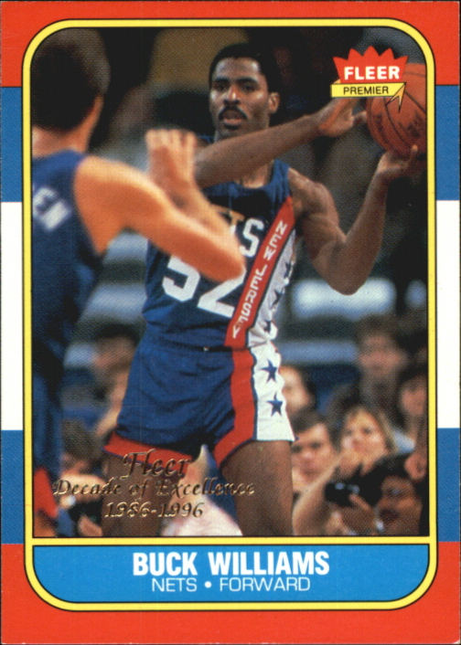 1996-97 Fleer Decade of Excellence #10 Buck Williams