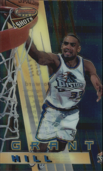 1996-97 Bowman's Best Shots Atomic Refractors #BS8 Grant Hill