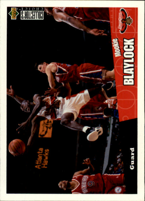 1996-97 Collector's Choice #1 Mookie Blaylock