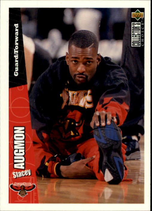 1996-97 Collector's Choice #6 Stacey Augmon