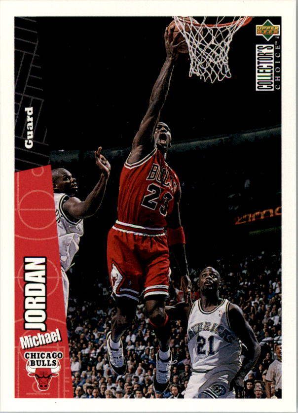 1996-97 Collector's Choice #23 Michael Jordan