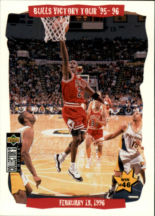 1996-97 Collector's Choice #26 Michael Jordan Bulls VT