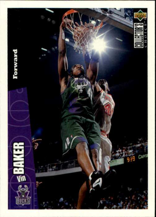 1996-97 Collector's Choice #84 Vin Baker