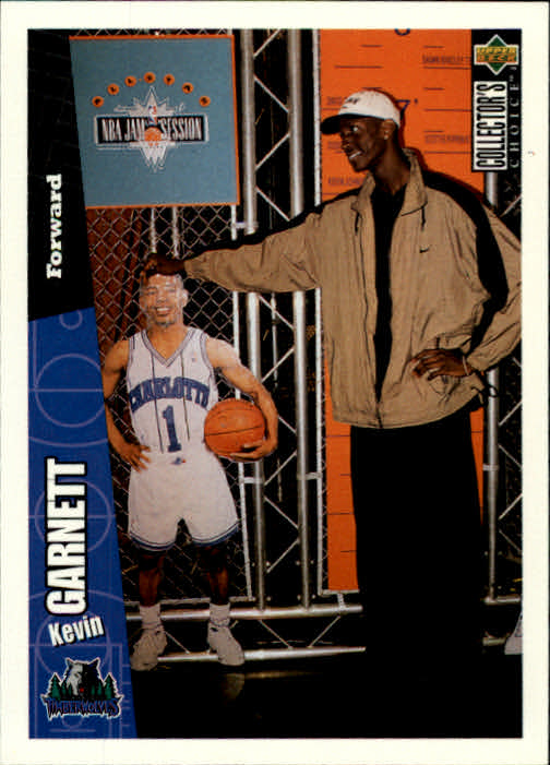 1996-97 Collector's Choice #89 Kevin Garnett